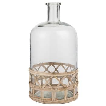Sklenená váza Bamboo Braid