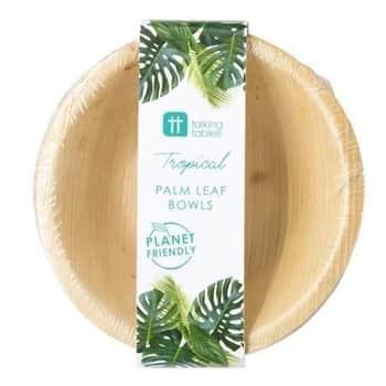 Misky zpalmových listů Palm Leaf Small Bowls 6 ks
