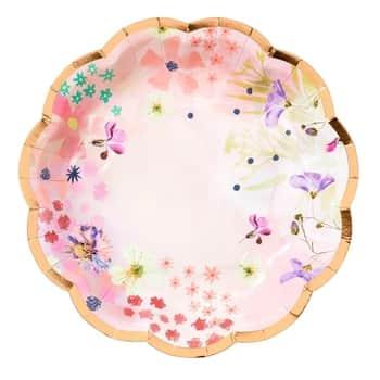 Papierové tanieriky Blossom Small Plates ⌀17 cm