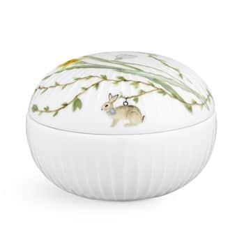 Veľkonočná porcelánová dózička Hammershøi Easter