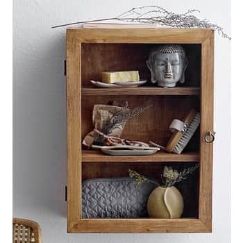 Dřevěná skříňka sdvířky Brown Mango
