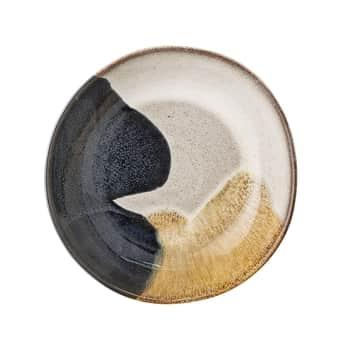 Polievkový tanier Jules Blue/Cream/Sand