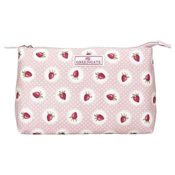 Kosmetická taštička Strawberry Pale Pink Large