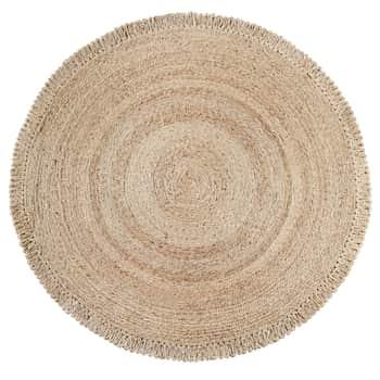 Jutový koberec Round Natural ø180