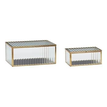 Skleněný box Ripple Glass