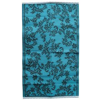 Plastový koberec Dusty Blue 150x90 cm