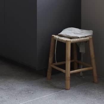 Bambusová stolička svýpletem Seagrass