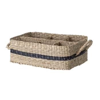 Košík spřihrádkami Seagrass
