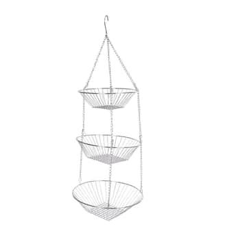 Závěsné košíky na ovoce Chromed