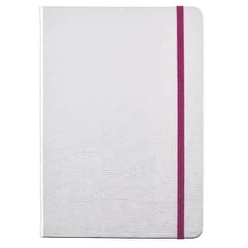 Zápisník Silver Faux