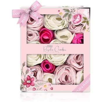 Mýdlové květy do koupele Rose, Poppy & Vanilla