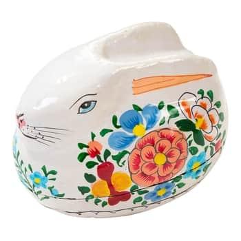 Velikonoční krabička na vajíčko Bunny Papier Mâché
