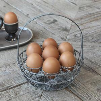 Stojan na vejce Antique Zinc