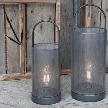 Elektrický lampáš Antique Coal
