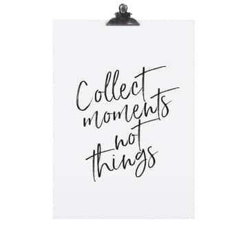 Plakát Collect Moments 30x42 cm