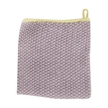 Pletená utěrka Purple Yellow 30x30cm