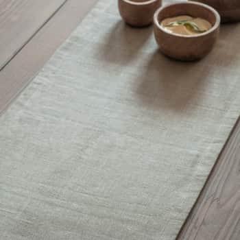 Lněný běhoun na stůl Natural 250x36cm