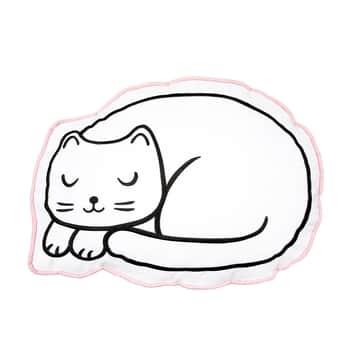 Bavlněný polštář Cutie Cat