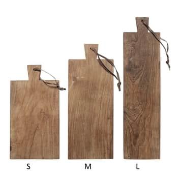Dřevěné prkénko zteakového dřeva Natural