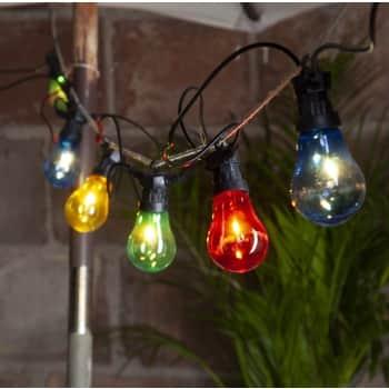 Světelný venkovní LED řetěz Circus