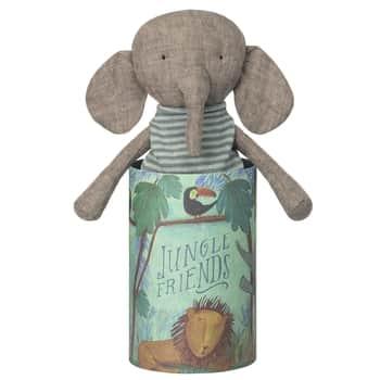 Látkový slon Jungle friends