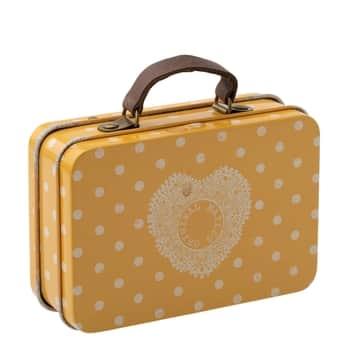 Plechový kufříček Yellow Dot