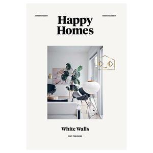 Kniha - Happy Homes: White Walls, Jonna Kivilahti