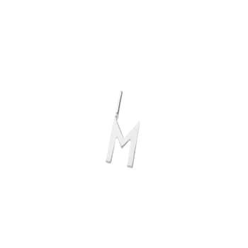 Strieborný prívesok Design Letters – M