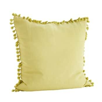 Lněný povlak na polštář Lemon 60x60 cm