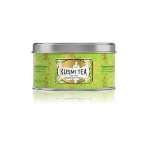 Sypaný zelený čaj Kusmi Tea - Ginger Lemon Tea 125g