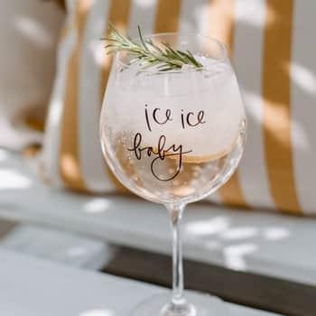 Sklenice na drink Ice Ice Baby
