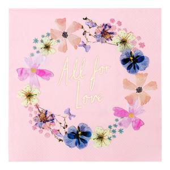 Papírové ubrousky Blossom Bride