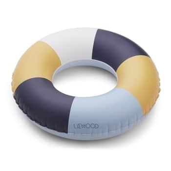 Nafukovací kruh Stripe Blue mix - 45cm