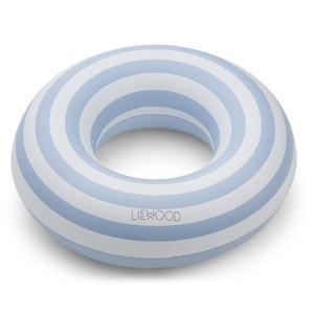Nafukovací kruh Stripe Blue Creme - 45cm