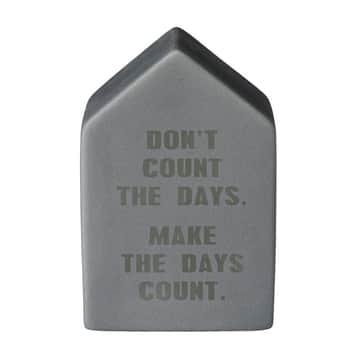 Dekoratívny domček Days Count
