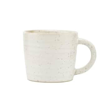 Porcelánový hrneček Pion Grey/White 100ml