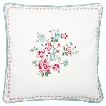 Bavlněný povlak na polštář Sonia White 40×40 cm