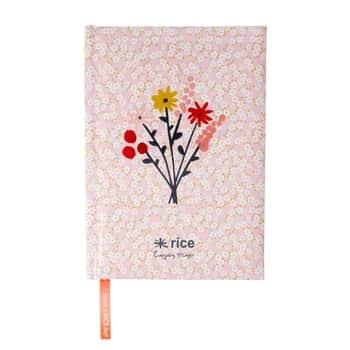 Linkovaný zápisník Flowers A5
