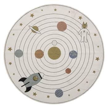 Bavlněný koberec Space Beige