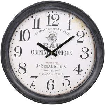 Nástenné hodiny Antique Black 43 cm