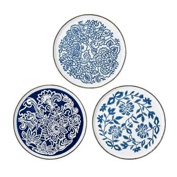 Keramický obedový tanier Molly Blue Plate 24 cm