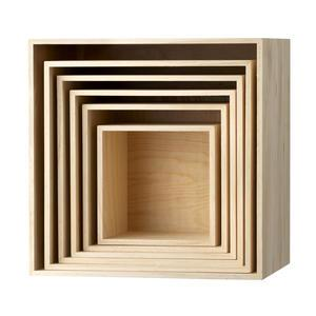 Nástěnný box Paulownia Nature