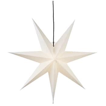 Závěsná svítíci hvězda Star Frozen 70 cm