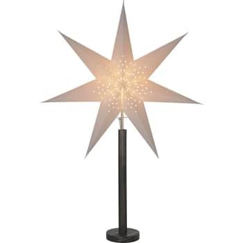 Hvězda na stojánku Elice Dark Brown