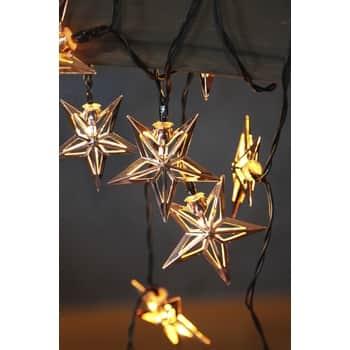 Světelný LED řetěz Star Copper