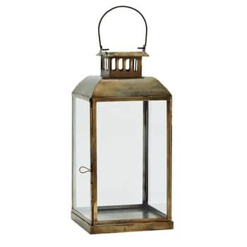 Lampáš Anique Brass 36 cm