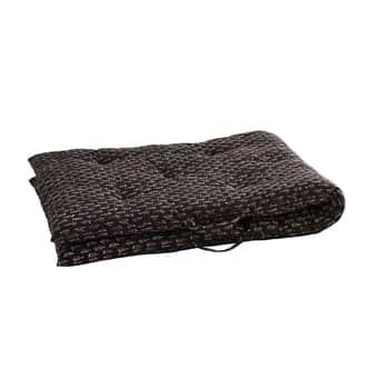 Bavlněná matrace/sedák Black 70x180cm
