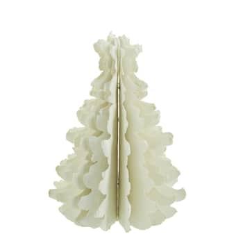Vianočná dekorácia Paper Tree White