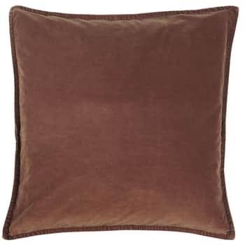 Sametový povlak na polštář Rust 52x52cm