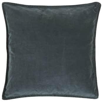 Sametový povlak na polštář Historical Blue 52x52cm